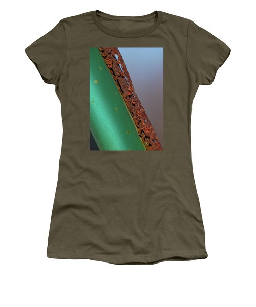Women's T-Shirt (Junior Cut) featuring the photograph International Green by Susan Capuano