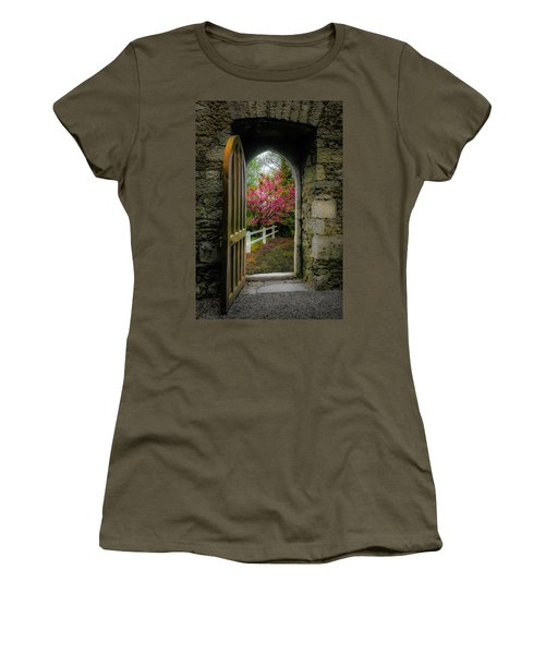 Women's T-Shirt (Athletic Fit) featuring the photograph Into Irish Spring by James Truett