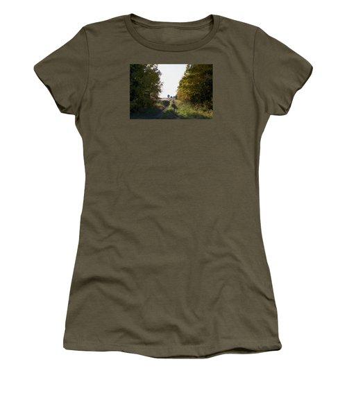 Into The Fields Women's T-Shirt (Junior Cut) by Ellery Russell