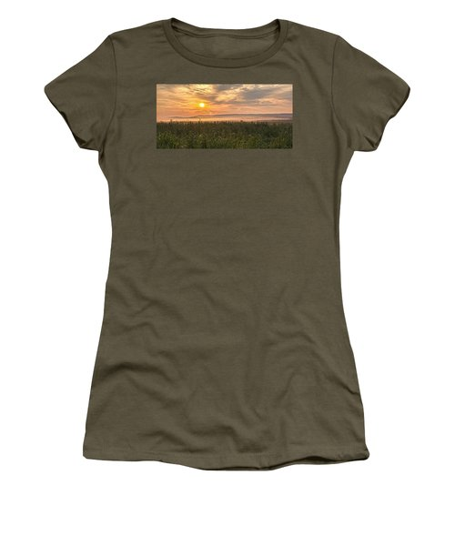 Into The Misty Sunrise Women's T-Shirt (Athletic Fit)