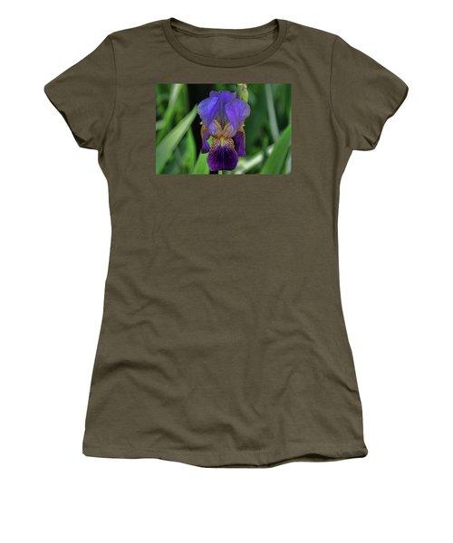 Iris Purple 2 Women's T-Shirt (Athletic Fit)