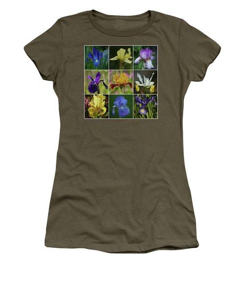 Iris Spring 2017 Collection Women's T-Shirt (Junior Cut) by Richard Cummings