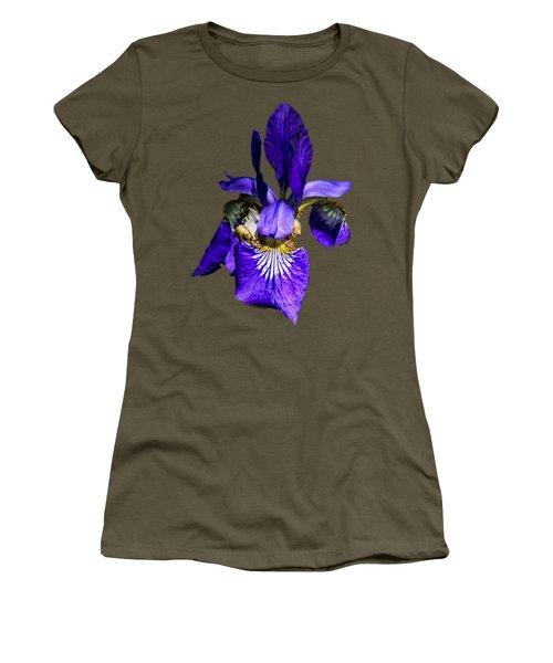 Iris Versicolor Women's T-Shirt (Athletic Fit)