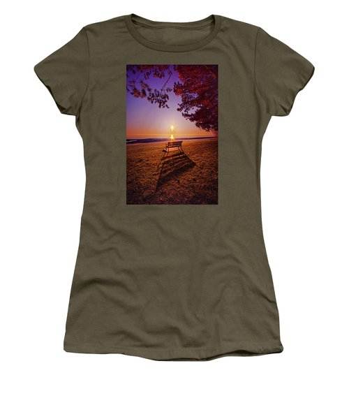 Women's T-Shirt (Junior Cut) featuring the photograph It Is Words With You I Seek by Phil Koch