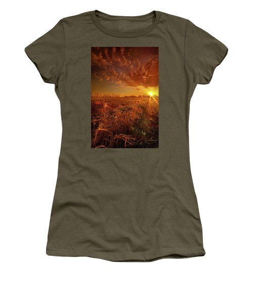 Women's T-Shirt (Junior Cut) featuring the photograph It Just Is by Phil Koch