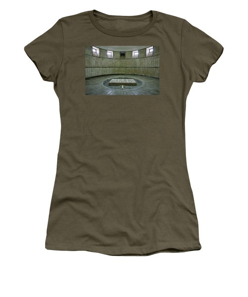 Women's T-Shirt (Athletic Fit) featuring the photograph Italian World War One Shrine #2 by Stuart Litoff