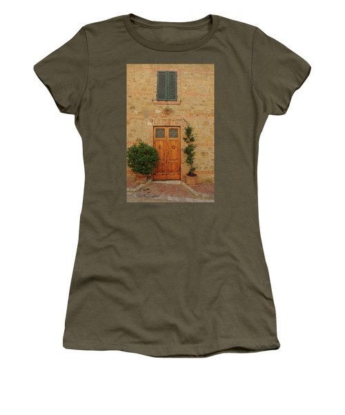 Italy - Door Nine Women's T-Shirt (Athletic Fit)