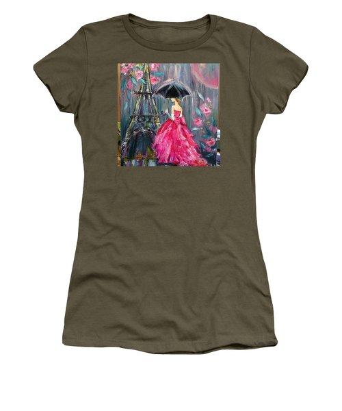 It's Raining In #california ! This Women's T-Shirt