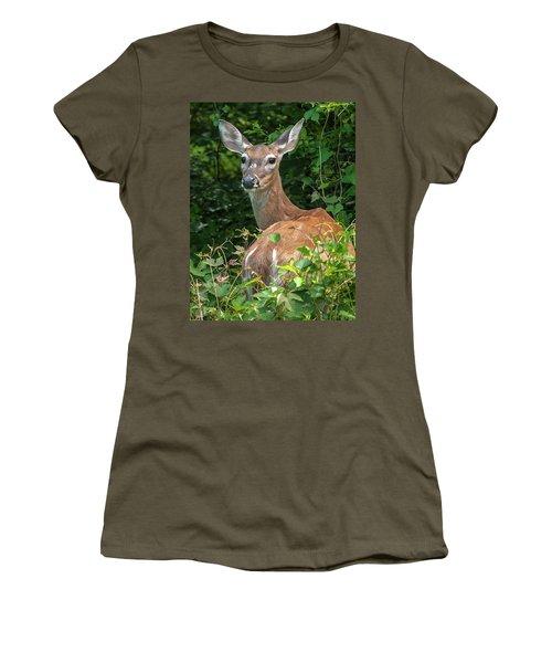 Ivy League Doe Women's T-Shirt (Athletic Fit)