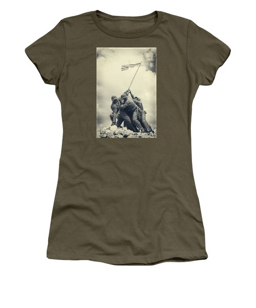 Iwo Jima Monument Women's T-Shirt