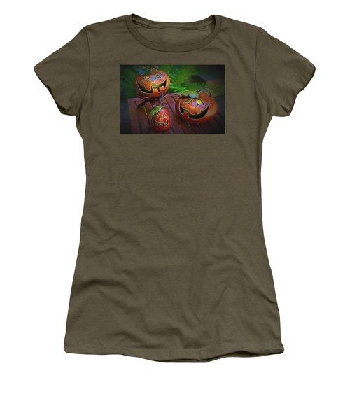 Jackolanterns Women's T-Shirt (Athletic Fit)