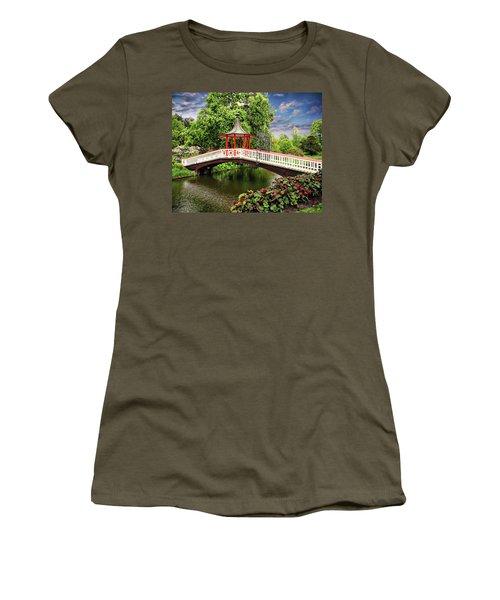 Japanese Bridge Garden Women's T-Shirt
