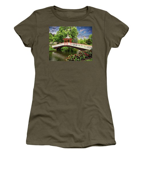 Japanese Bridge Garden Women's T-Shirt