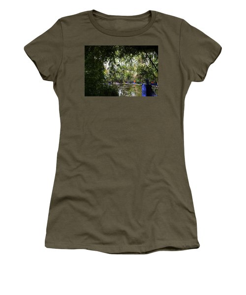 Women's T-Shirt (Junior Cut) featuring the photograph Jardin Majorelle 2 by Andrew Fare