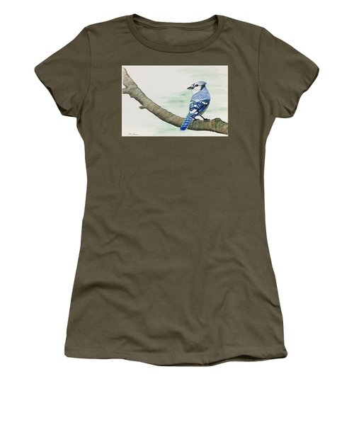 Jay In The Pine Women's T-Shirt