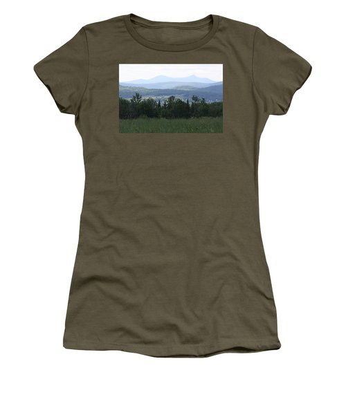 Jay Peak From Irasburg Women's T-Shirt