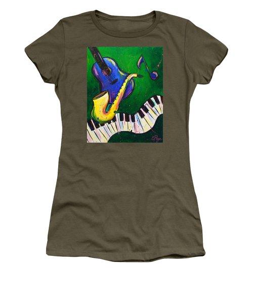 Jazz Time Women's T-Shirt