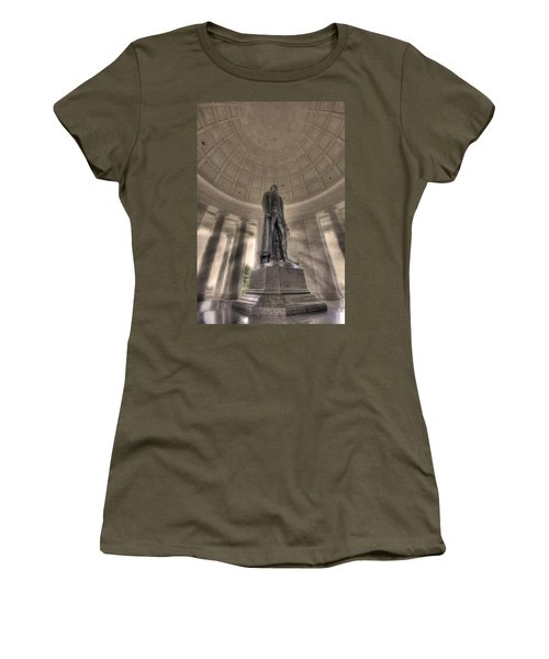 Jefferson Memorial Women's T-Shirt (Athletic Fit)