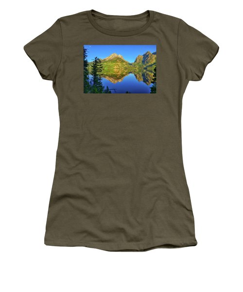 Jenny Lake Morning Reflections Women's T-Shirt
