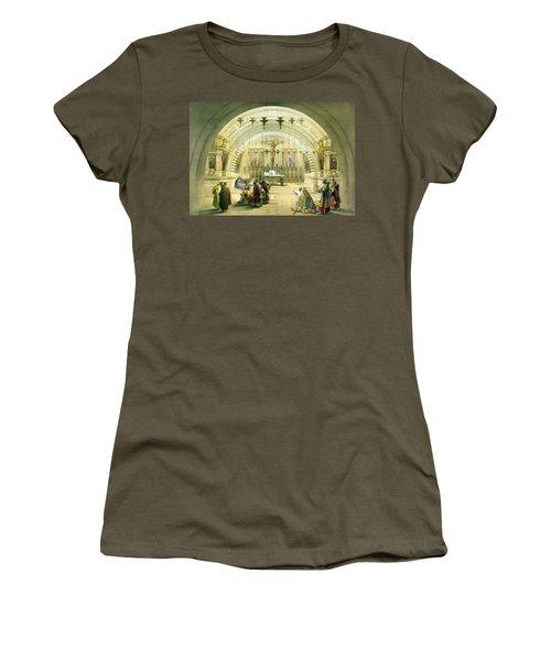Jerusalem Calvery Women's T-Shirt (Athletic Fit)