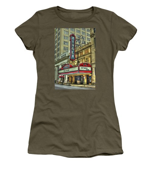 Jewel Of The South Tivoli Chattanooga Historic Theater Women's T-Shirt (Junior Cut) by Reid Callaway
