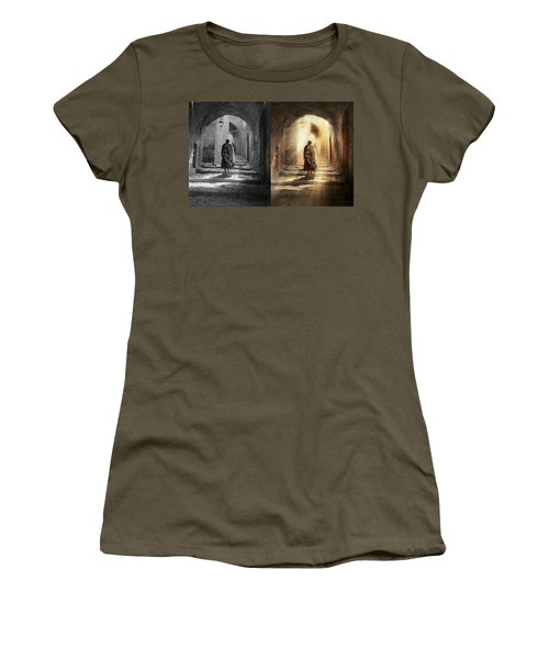 Jewish - Evening Prayers 1934 - Side By Side Women's T-Shirt