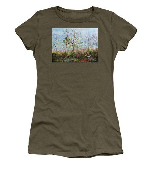 Jim Creek Lift Off Women's T-Shirt (Athletic Fit)