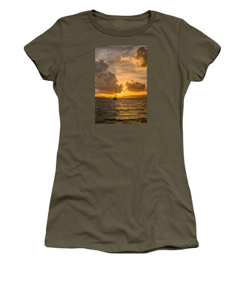 Jimmy Buffet Sunrise Women's T-Shirt (Athletic Fit)