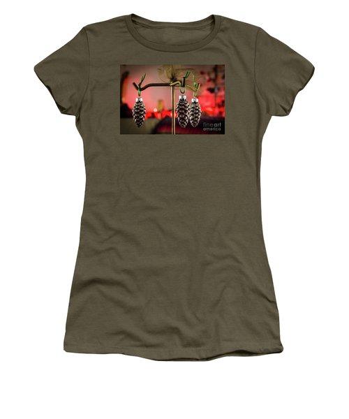 Jingle Pinecones Women's T-Shirt