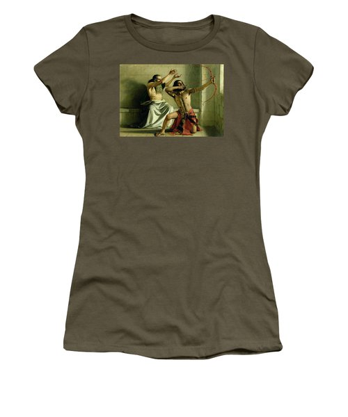 Joash Shooting The Arrow Of Deliverance Women's T-Shirt