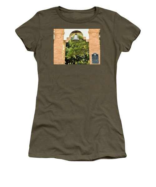 Women's T-Shirt (Junior Cut) featuring the photograph John Wheeler Bunton Historic Memorial by Ray Shrewsberry