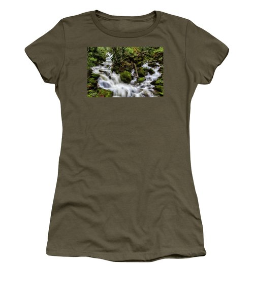 Joining Forces Women's T-Shirt (Junior Cut) by Charlie Duncan