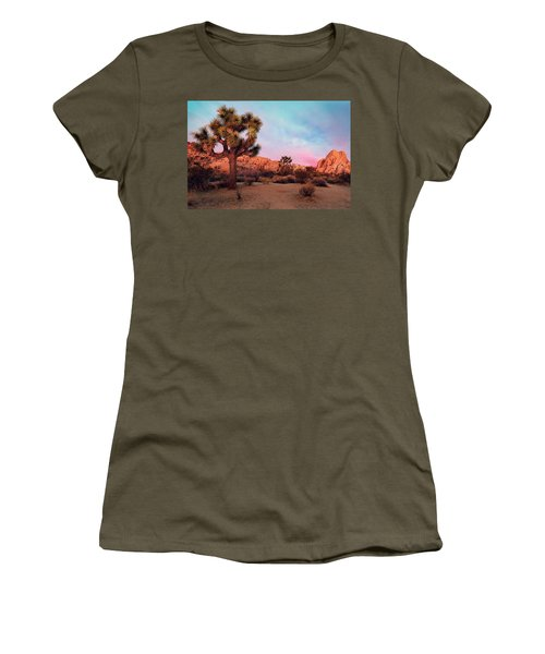 Joshua Tree With Dawn's Early Light Women's T-Shirt