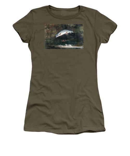 Jumping Trout Women's T-Shirt