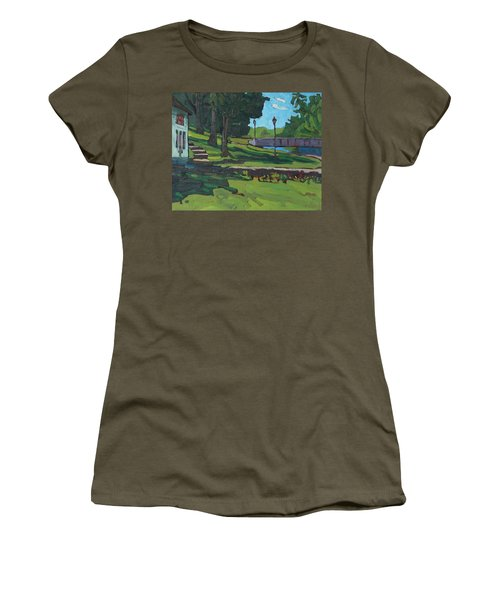 June Afternoon At Chaffeys Women's T-Shirt (Athletic Fit)