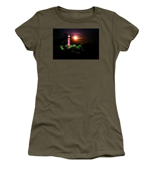 Jupiter Lighthouse Women's T-Shirt (Athletic Fit)