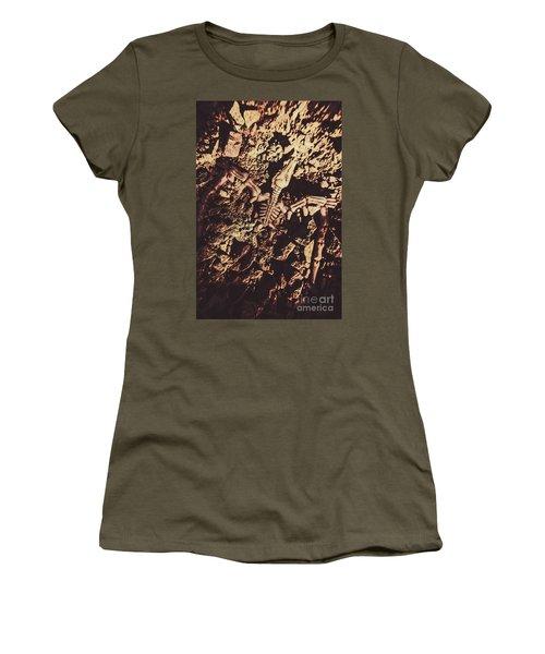 Jurassic Grave Women's T-Shirt