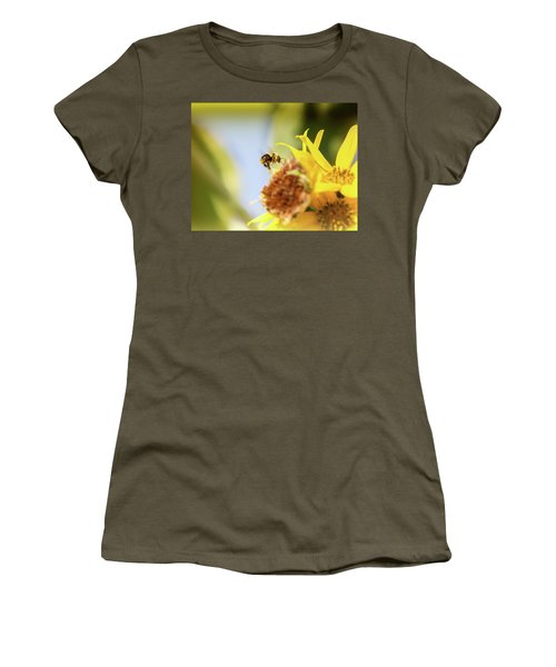 Women's T-Shirt (Junior Cut) featuring the photograph Just Beeing Me by Annette Hugen