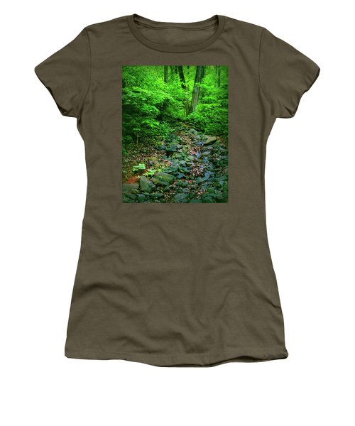 Women's T-Shirt (Junior Cut) featuring the photograph Just Breath by Laura DAddona