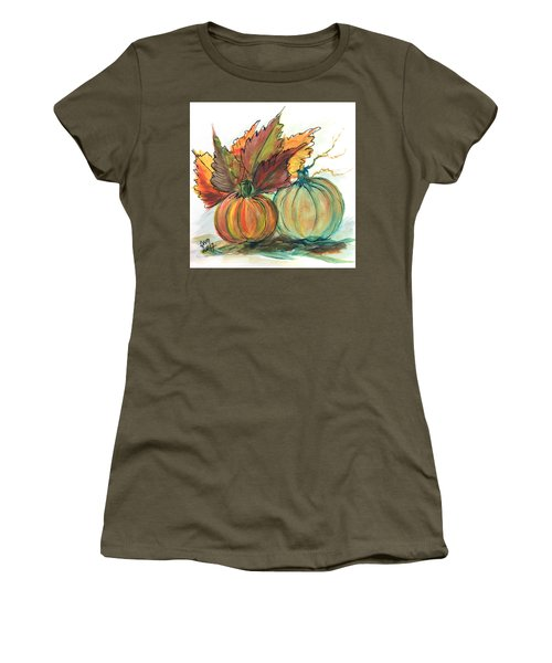 Just Pumpkins Women's T-Shirt (Athletic Fit)
