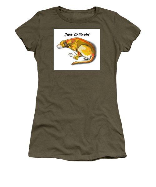 Kai Chillaxin' Women's T-Shirt (Athletic Fit)