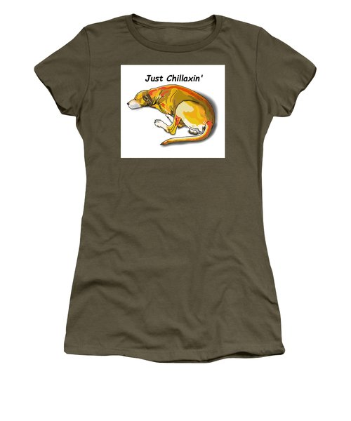 Kai Chillaxin' Women's T-Shirt (Athletic Fit)