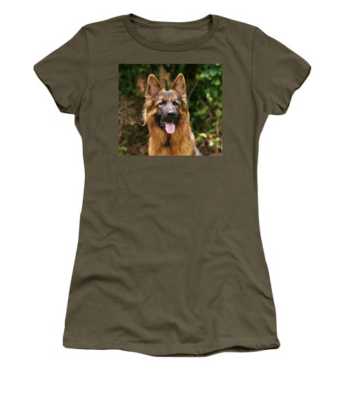 Kaiser - German Shepherd Women's T-Shirt (Athletic Fit)