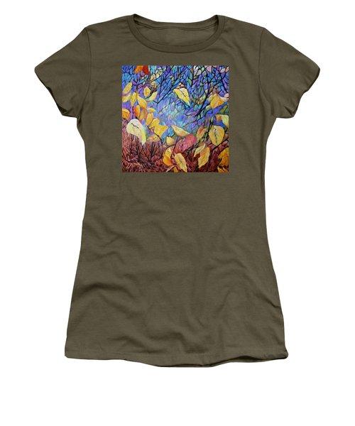 Kaleidescope Women's T-Shirt (Athletic Fit)