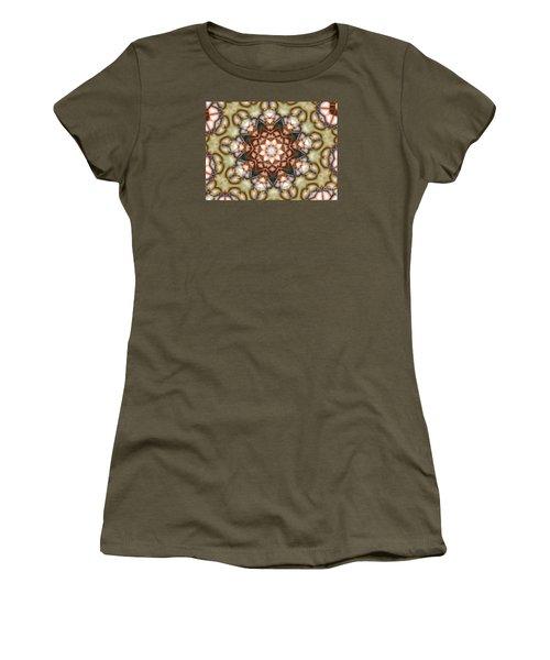 Kaleidoscope 108 Women's T-Shirt (Junior Cut) by Ron Bissett