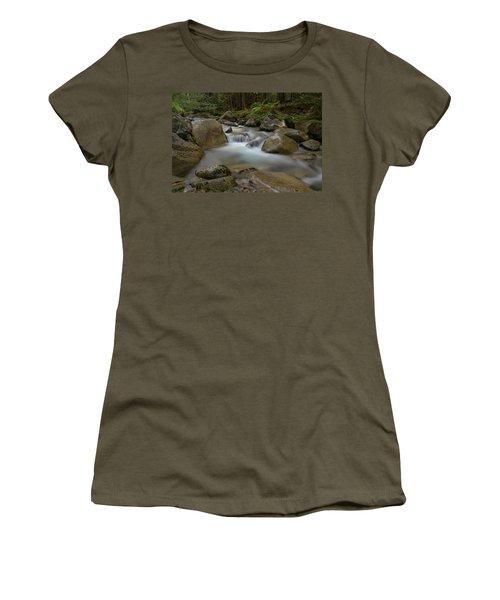 Katahdin Stream Cascades Women's T-Shirt