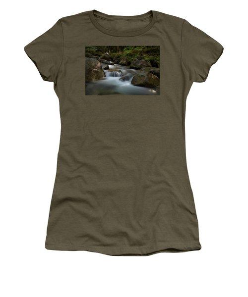 Katahdin Stream In The Shade Women's T-Shirt
