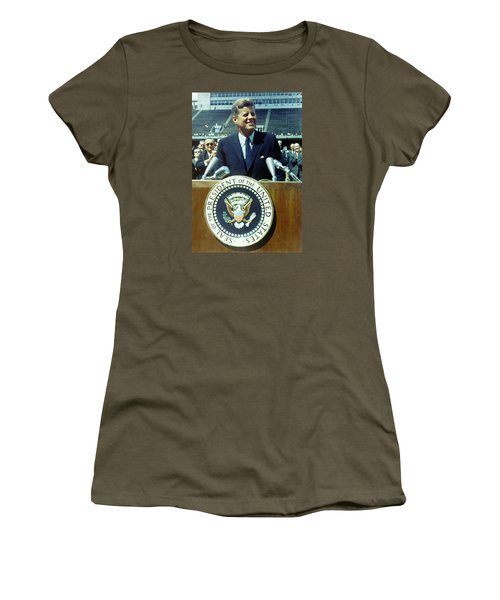 Kennedy At Rice University Women's T-Shirt