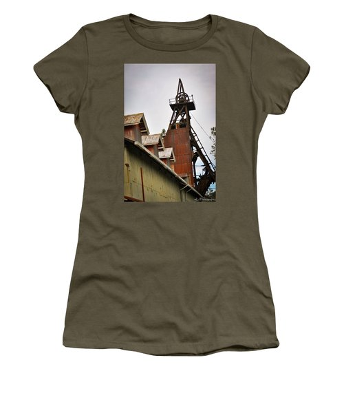 Kennedy Mine Headframe Women's T-Shirt (Athletic Fit)