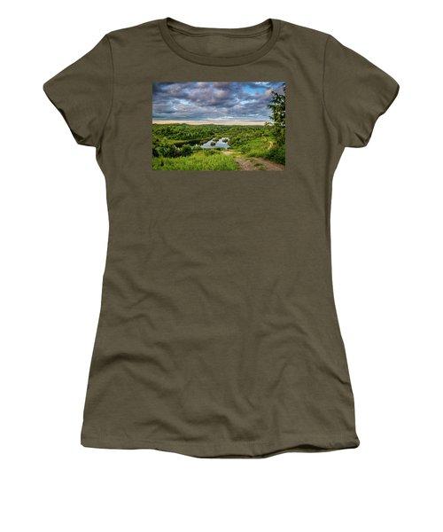 Kentucky Hills And Lake Women's T-Shirt